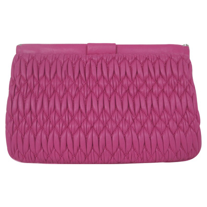 Miu Miu clutch in rosa