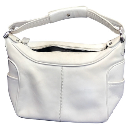 Tod's Tod's's white leather handbag