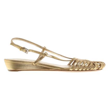 Prada Sandals in gold