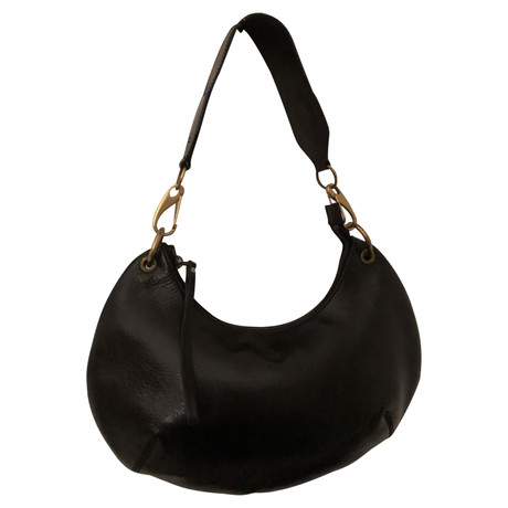 Gucci Tasche aus Leder Schwarz Auslass Finish Verkauf Günstiger Versand Perfekt 9iQelgsF
