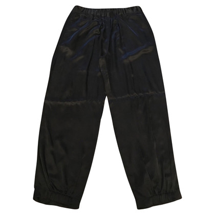 Maison Martin Margiela Black trousers with elastic