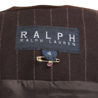 Ralph Lauren Coat dress with pinstripes