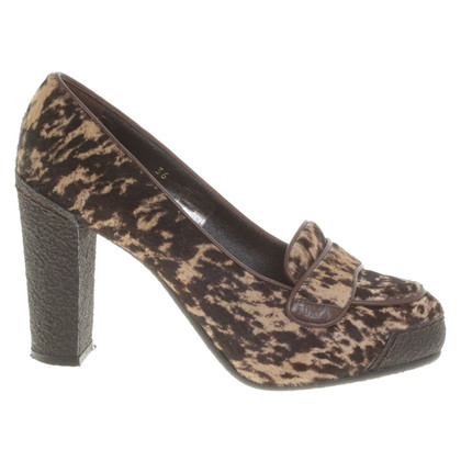 Furla pumps in animal design
