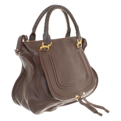 "Chloé ""Marcie Bag"" in brown"