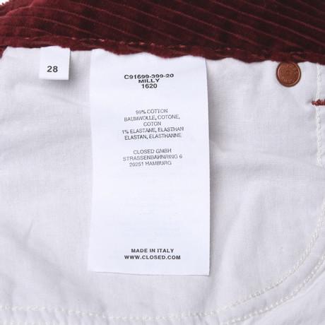Closed Hose in Rot Rot Outlet Online Bestellen Verkauf Großhandelspreis Freies Verschiffen Fabrikverkauf Billig Verkauf Versorgung Billig Mit Master pA6TYh6