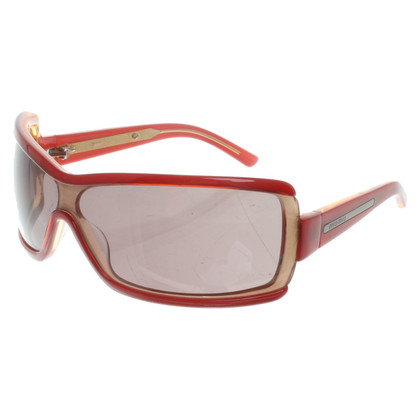 Miu Miu Occhiali da sole in rosso
