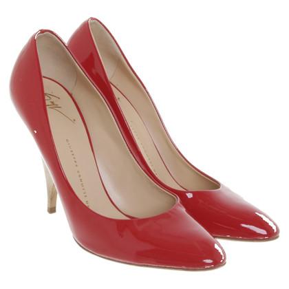 Giuseppe Zanotti pumps in rosso