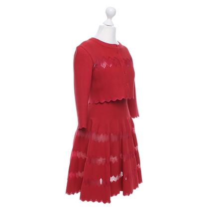 Alaïa Kleid mit Jäckchen