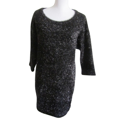 Elisabetta Franchi Black knit dress