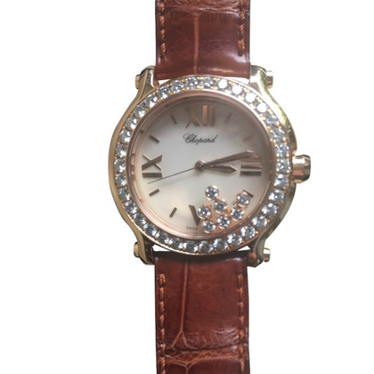 Chopard Happy sport Chopard pink gold diamonds