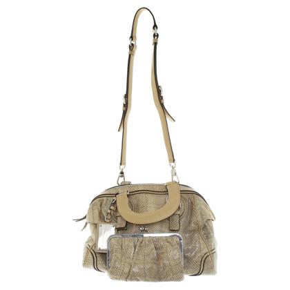 Dolce & Gabbana Handtasche aus Schlangenleder