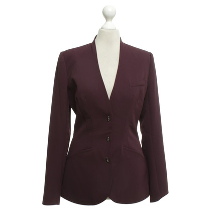 Mugler Blazer in burgundy