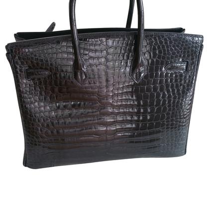 "Hermès ""Birkin Bag 35"" from Crocodylus Porosus"