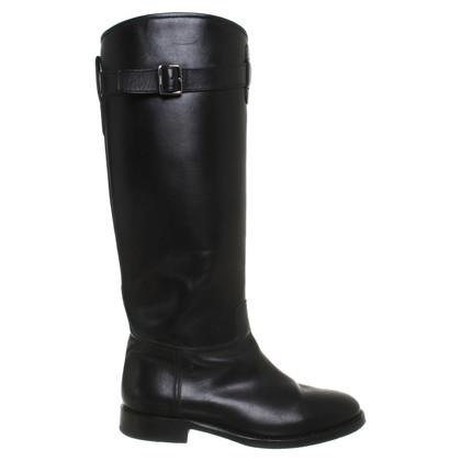 Bally Laarzen in zwart