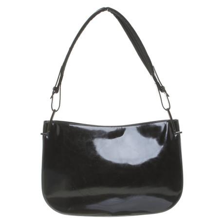 Freies Verschiffen Online-Shopping Steckdose Billig Gucci Schultertasche in Schwarz Schwarz FqX0of