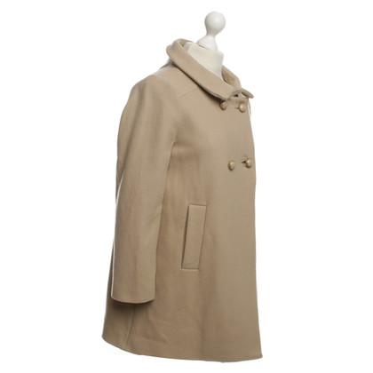Schumacher Wool coat in beige