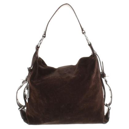 D&G Wildleder-Handtasche