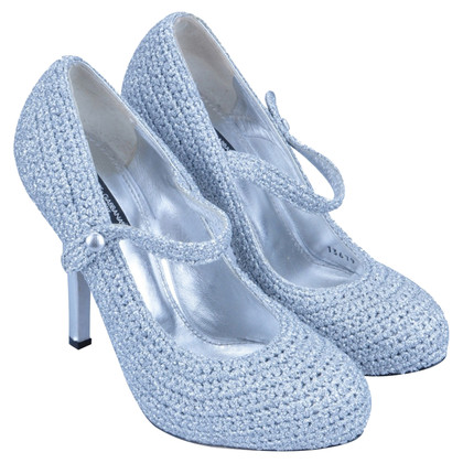 Dolce & Gabbana Mary Jane pumps argent