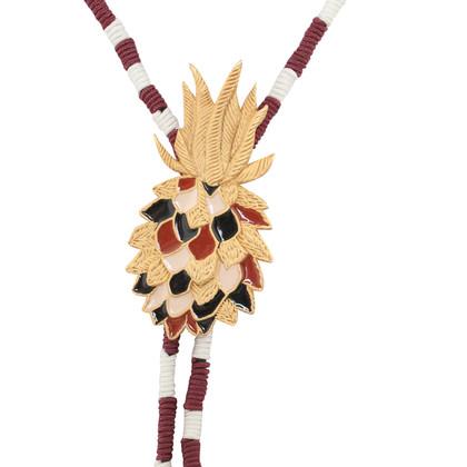 Maje Chaîne avec pendentif d'ananas