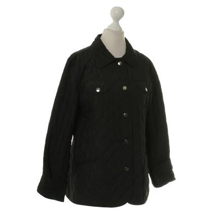 Bogner Doorgestikte jas in zwart