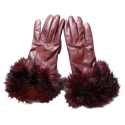 Ted Baker lederen handschoenen