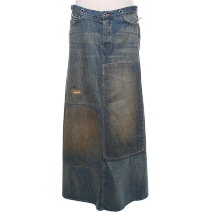 Ralph Lauren Denim skirt in used look