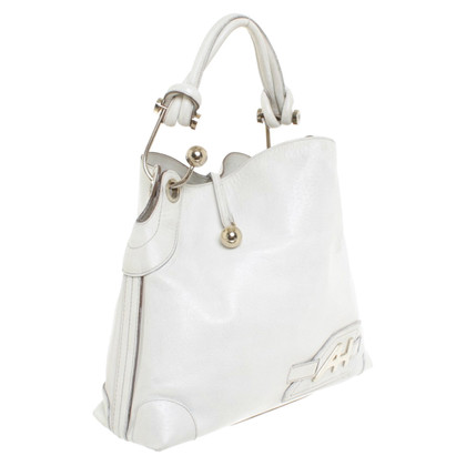 Anya Hindmarch Handtasche in Weiß