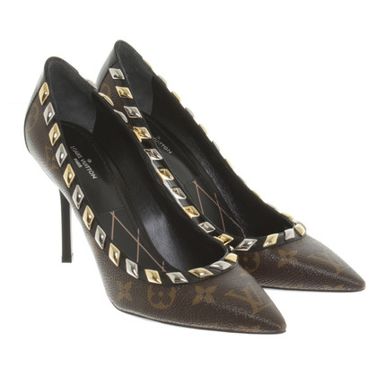 Louis Vuitton pumps van Monogram Canvas