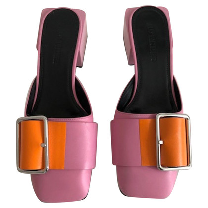 Jil Sander Mules with buckle