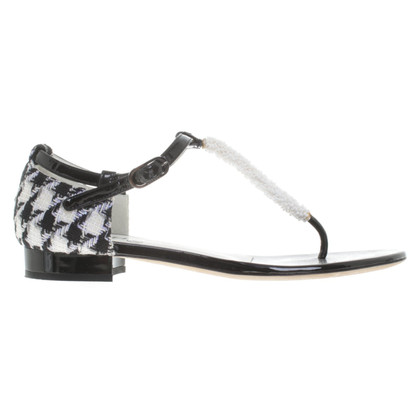Chanel Sandalen in Bicolor
