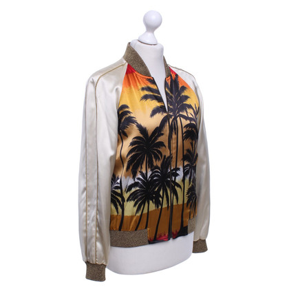 Saint Laurent Blouson Print
