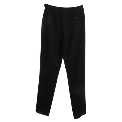 Chanel pantaloni classici in nero