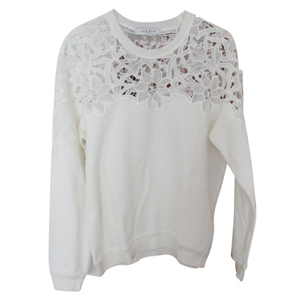 Sandro Sweater with lace insert