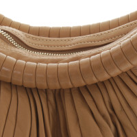 Loewe Leather handbag with pleats