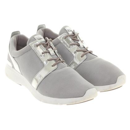 Michael Kors Sneakers in Silberfarben