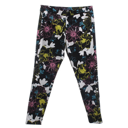 French Connection trousers with floral print