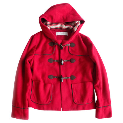 Cacharel Duffle jas in rood