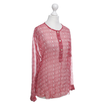 Isabel Marant Blouse with patterns