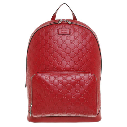 Gucci Backpack in red