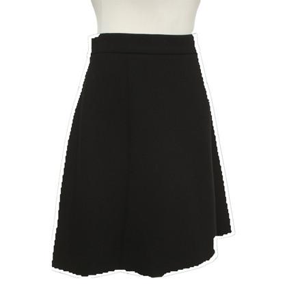 Dolce & Gabbana A-line skirt in black