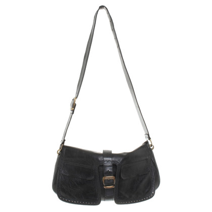 Barbara Bui Leather Satchel