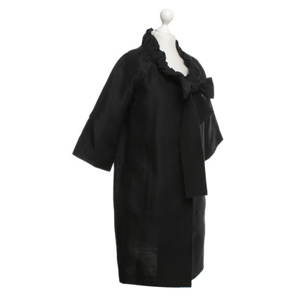 Dolce & Gabbana Coat in black
