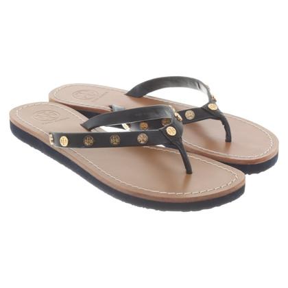 Tory Burch Toe separator in black / brown
