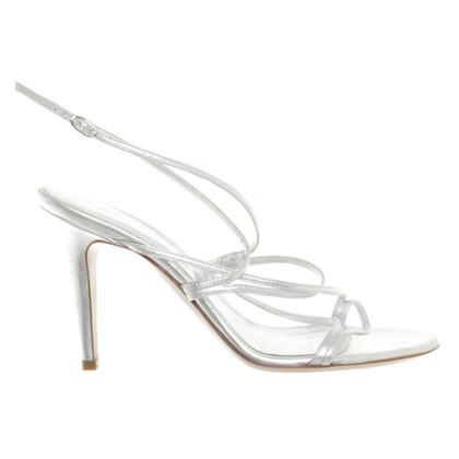 Sergio Rossi Sandals in zilver