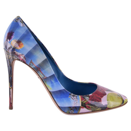 "Dolce & Gabbana pumps ""Caballe"" in patent leather"