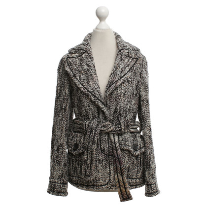 Missoni Bouclé jacket in brown / cream