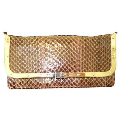 Dolce & Gabbana Shoulder bag made of python leather