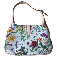 Gucci Handbag with a floral pattern
