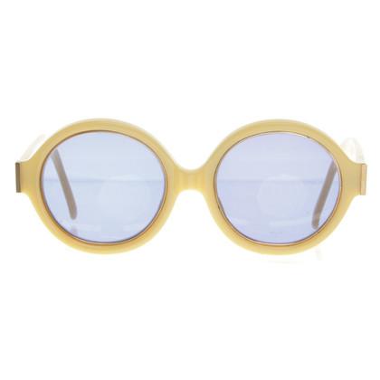 Christian Dior Sonnenbrille in Gelb