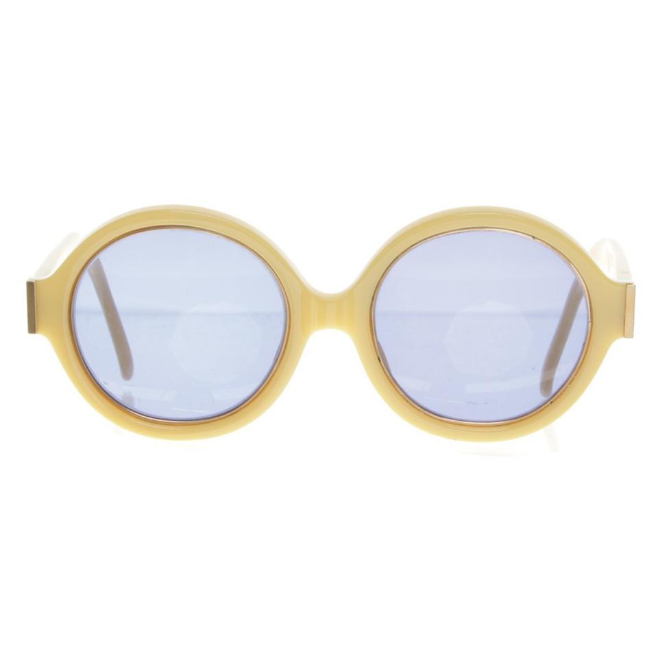 christian dior sonnenbrille in gelb second hand. Black Bedroom Furniture Sets. Home Design Ideas